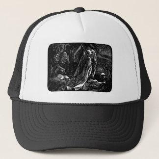 Santa Muerte (Mexican Grim Reaper) Trucker Hat