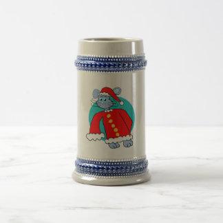 Santa Suit Bunny Mug