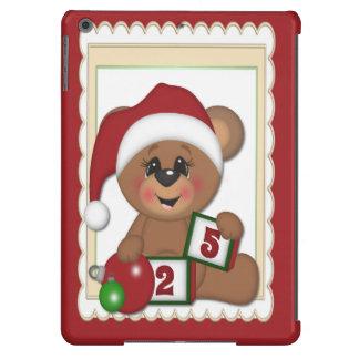 Santa Teddy Bear Cover For iPad Air
