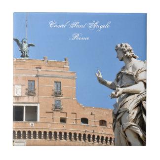 Sant'Angelo Castle in Rome, Italy Tile