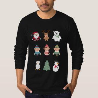 Santa's buddies funny ugly Christmas sweater