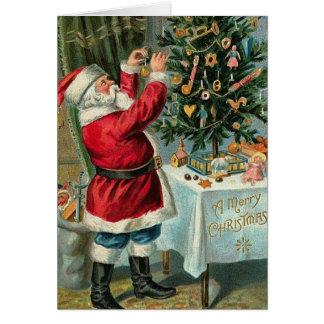 santas Christmas_Card Card