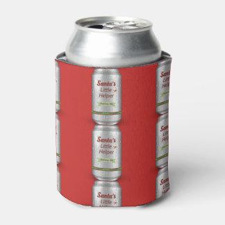 Santa's Little Helper Beer Can