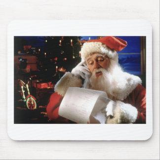 Santas Naughty and Nice List Mouse Pad