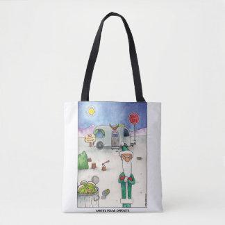 Santa's Polar Opposite Tote Bag