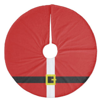 Santa's Suit | Christmas Fleece Tree Skirt