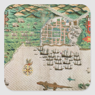 Santiago, Cape Verde, 1589 2 Stickers