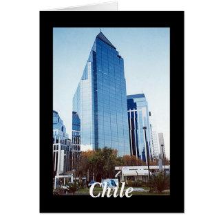 Santiago, Chile Card