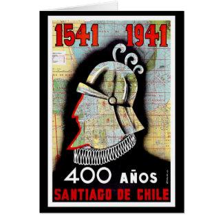 Santiago De Chile Card