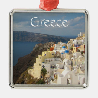 Santorini in the Afternoon Sun Christmas Ornament