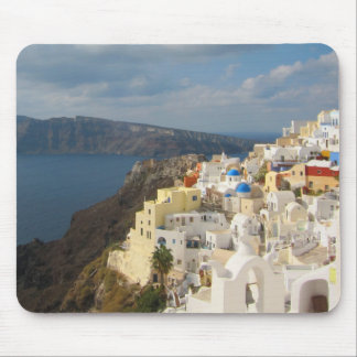 Santorini in the Afternoon Sun Mouse Pad