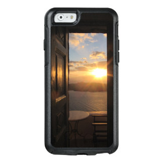 Santorini sunset through door OtterBox iPhone 6/6s case