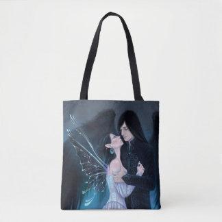 Sapphire Fairy Angel Romance Tote Bag