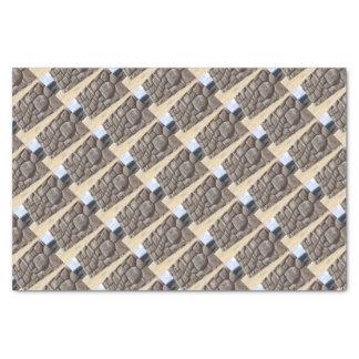Saqsaywaman Snake Pictogram Tissue Paper