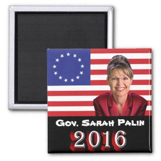 Sarah Palin 2016 - Betsy Ross 13-Star U.S. Flag Magnet