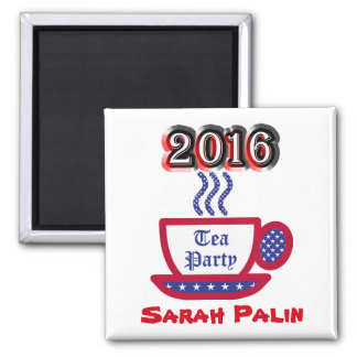 Sarah Palin 2016 - Tea Party Magnet
