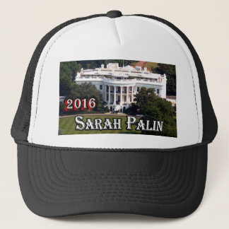 Sarah Palin 2016 & White House Trucker Hat