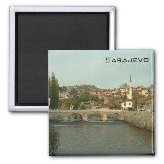 Sarajevo - Latin Bridge Fridge Magnet