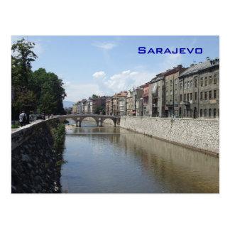 Sarajevo - Latin bridge Postcard