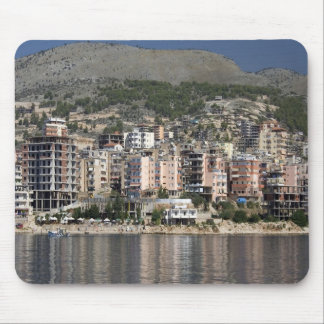 Sarande town in Albania Mouse Pad