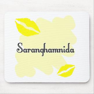 Saranghamnida - Korean I love you Mousepads
