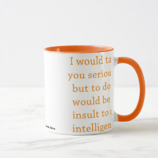 Sarcasm Coffee Mug