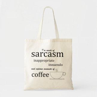 Sarcasm, Innuendo, and Coffee Tote