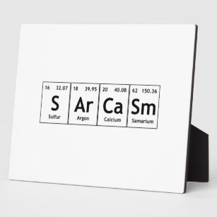 Words periodic table elements symbols home decor pets products sarcasm periodic table elements word chemistry plaque urtaz Image collections