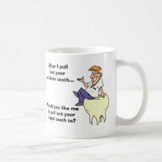 Sarcastic Dentist Wisdom Teeth Coffee Mug