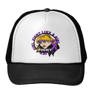 Sarcoidosis Fight Like A Girl Attitude Trucker Hat