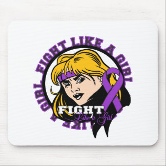 Sarcoidosis Fight Like A Girl Attitude Mouse Pad