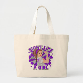 Sarcoidosis Modern Rosie Fight Like a Girl Tote Bag