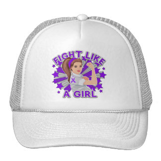 Sarcoidosis Modern Rosie Fight Like a Girl Cap