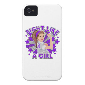 Sarcoidosis Modern Rosie Fight Like a Girl iPhone 4 Case