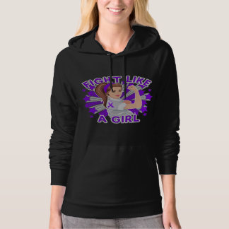 Sarcoidosis Modern Rosie Fight Like a Girl Hoodies