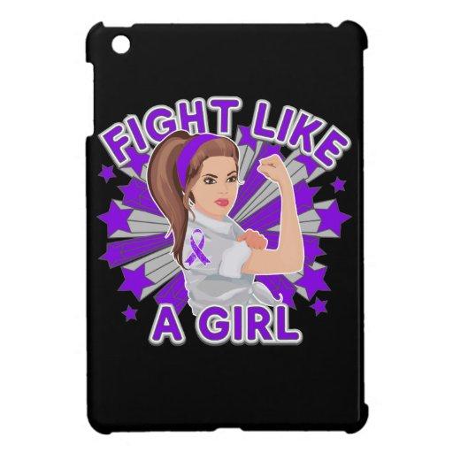 Sarcoidosis Modern Rosie Fight Like a Girl iPad Mini Cover