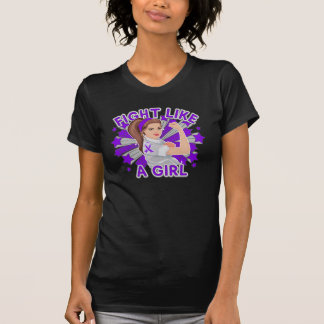 Sarcoidosis Modern Rosie Fight Like a Girl T Shirts