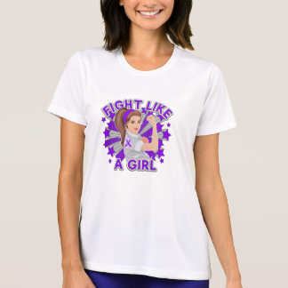 Sarcoidosis Modern Rosie Fight Like a Girl Shirt