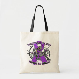 Sarcoidosis Survivor By Day Ninja By Night Bag