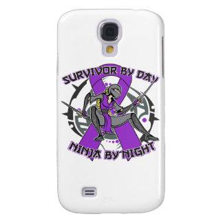 Sarcoidosis Survivor By Day Ninja By Night Galaxy S4 Case