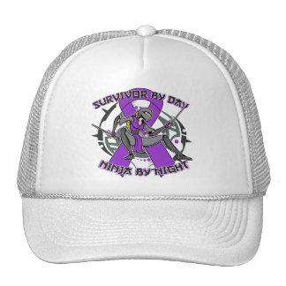 Sarcoidosis Survivor By Day Ninja By Night Trucker Hat