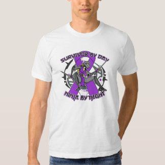 Sarcoidosis Survivor By Day Ninja By Night Shirt