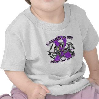 Sarcoidosis Survivor By Day Ninja By Night Tee Shirts