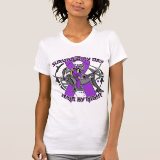 Sarcoidosis Survivor By Day Ninja By Night T Shirts