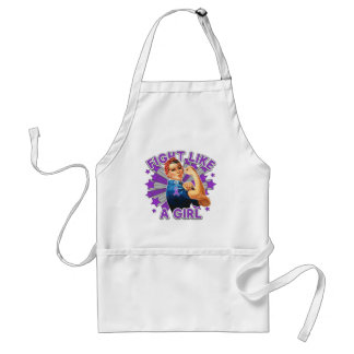 Sarcoidosis Vintage Rosie Fight Like A Girl Standard Apron