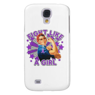 Sarcoidosis Vintage Rosie Fight Like A Girl Samsung Galaxy S4 Cases