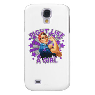 Sarcoidosis Vintage Rosie Fight Like A Girl Galaxy S4 Cover