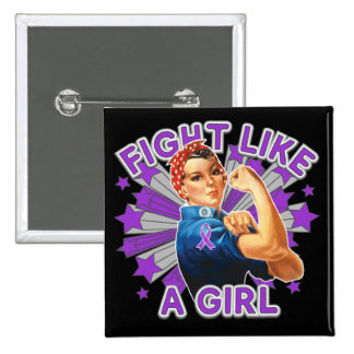 Sarcoidosis Vintage Rosie Fight Like A Girl Pins