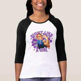 Sarcoidosis Vintage Rosie Fight Like A Girl Tees