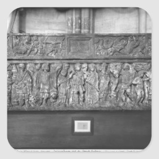 Sarcophagus of St. Quitterie Square Sticker
